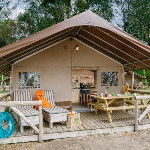 Big Five Safaritent in vakantiepark Beekse Bergen