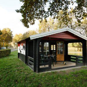 Blokhut in vakantiepark Beekse Bergen