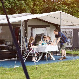 Comfort kampeerplaats in vakantiepark Beekse Bergen