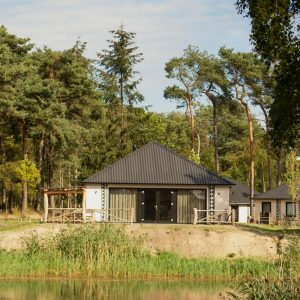 Lodge Plus in vakantiepark Beekse Bergen