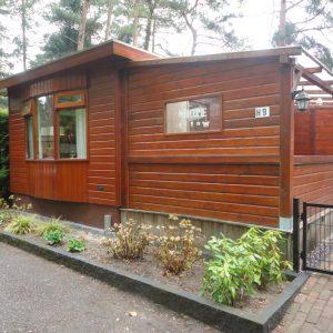 Vakantiehuisje in Doornspijk op Bospark met veranda